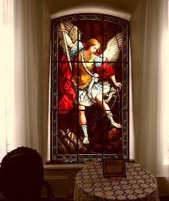 1 of only 3 stained glass windows of its kind left in the world
