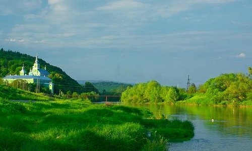 Latorica River: surrounded by rich greenery