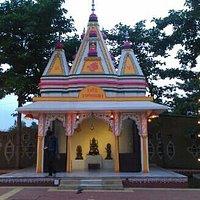 mandir inside the premises