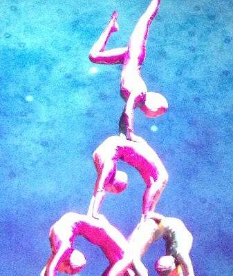 Shanghai Centre Theatre - acrobatics show