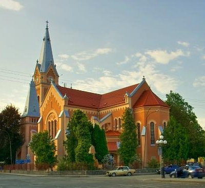 St.Martin Cathedral in Mukacheve