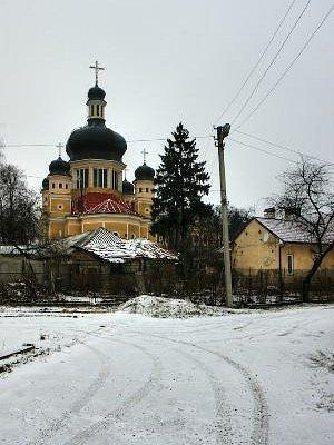 The Assumption Church in Chernivtsi