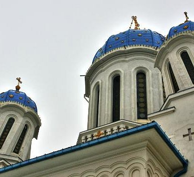 "St Nicholas ""Drunken"" Church in Chernivtsi"
