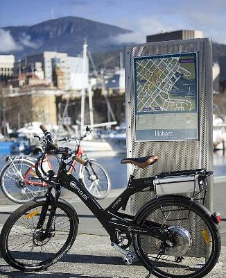 Great bikes for a great way to see Hobart