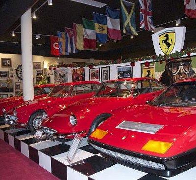 Red Ferrari's