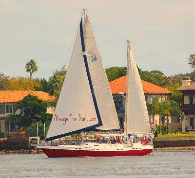 Sailing on the Matanzas Bay