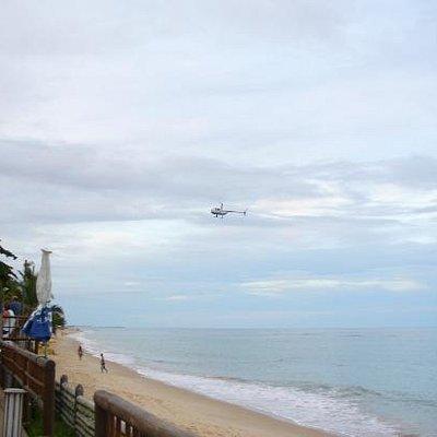 Parracho Beach al atardecer