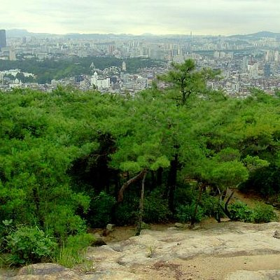 Achasan view of Seoul