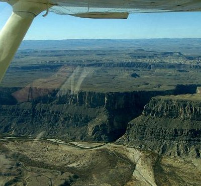 This is what we mean when we talk about a scenic flight.