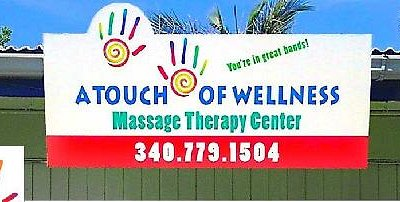 Welcome to A Touch of Wellness Massage Center, St Thomas